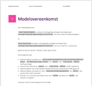 preview voorbeeldcontract